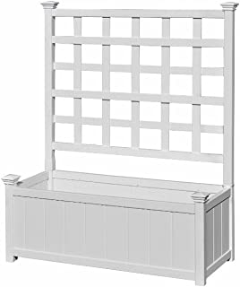 Best large planter box with trellis Reviews