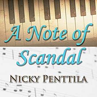 A Note of Scandal audiobook cover art