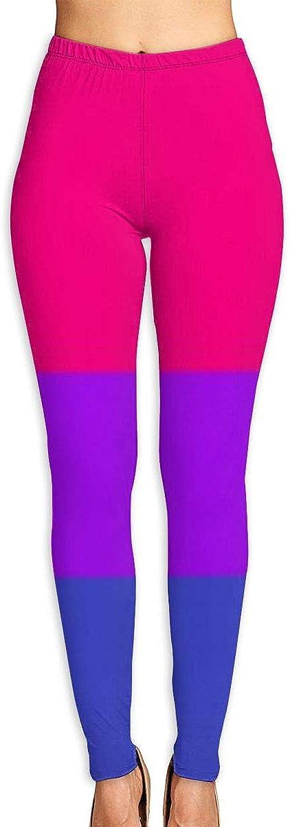 MMHAWAAN Women's Outstanding Yoga Capris Bisexual Max 70% OFF 3D Flag P Leggings Workout