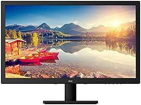 AOC e2775SJ 27-Inch Class LED Monitor, 1920x1080, 300sd/m2, 2ms, 50M:1, VGA,DVI,HDMI, Speakers, Earphone Out