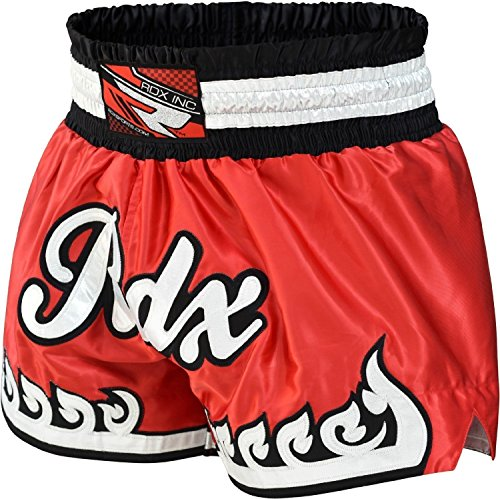 RDX Muay Thai Shorts Kampfsport Boxen Thaibox Hose Kickboxen Kurze Sporthose Trainingshorts(MEHRWEG)