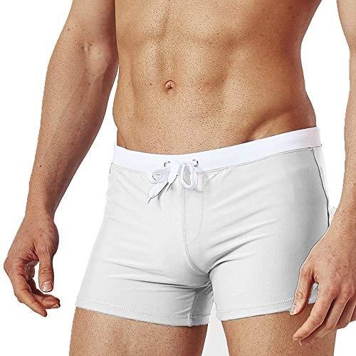 Traje de baño de moda Hombres nadar pantalones cortos troncos de troncos de hombre pantalones de playa pantalones cortos spa shorts de gran tamaño nadar trajes de agua pantalones de agua pantalones su