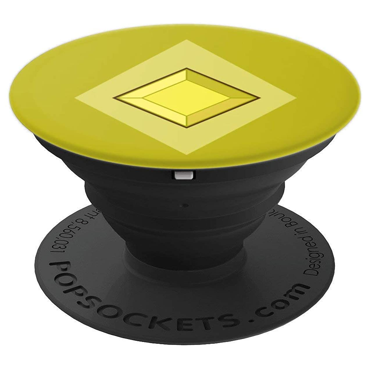My Yellow Diamond - Beautiful Universe Gem - PopSockets Grip and Stand for Phones and Tablets