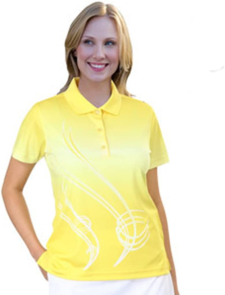 Monterey Club Inventory cleanup selling sale Women's Ombre Print #2537 Shirt Polo Super sale