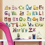 Niños Carta Aprendizaje Educación Juguetes Pegatinas de pared Niños Tarjeta inclinada Libro Infantil Bebé Niños Tarjeta de libro divertido Juguetes