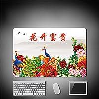 LL-COEUR 大型マウスパッド キーボード ゲーミング オフィス テーブルマット が良い 滑り止めゴム底 中国の伝統文化 キャラクター 風景(25)
