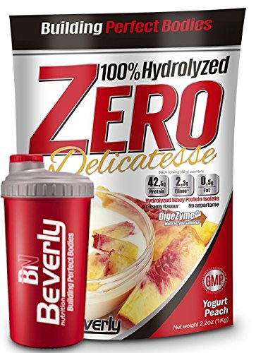 Hydrolyzed Zero + Shaker - 1Kg - Sabor YOGURT PEACH