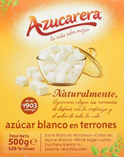 Azucarera - Azucar blanco en terrones, 500g