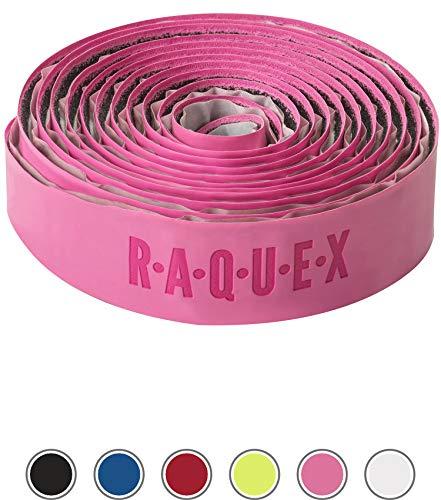 Raquex Hockeyschläger-Griff: Super griffig, weich und saugfähig (Rosa, 1 Griffband)