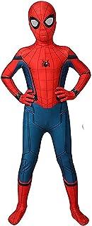 Halloween Kids Cosplay Costume Superhero Pretend Play Spandex Suit Full Bodysuit