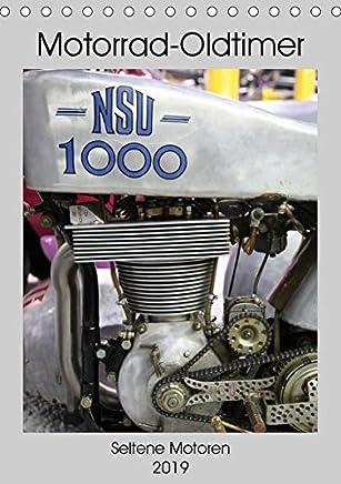 Motorrad Oldtimer - Seltene Motoren (Tischkalender 2019 DIN A5 hoch): Motoransichten von seltenen Oldtimermotorrädern (Monatskalender, 14 Seiten ) (CALVENDO Hobbys)