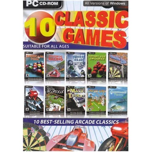 Classic Computer PC Games: Amazon co uk