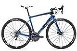 Giant Defy Advanced Pro 2 - Bicicleta de carreras, 28 pulgadas, color azul y negro (2016), 56