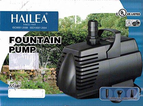 Filterpumpe Teichpumpe 2.400l/h Hailea HX-8825