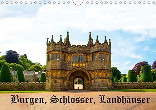 Burgen, Schlösser, Landhäuser (Wandkalender 2021 DIN A4 quer)