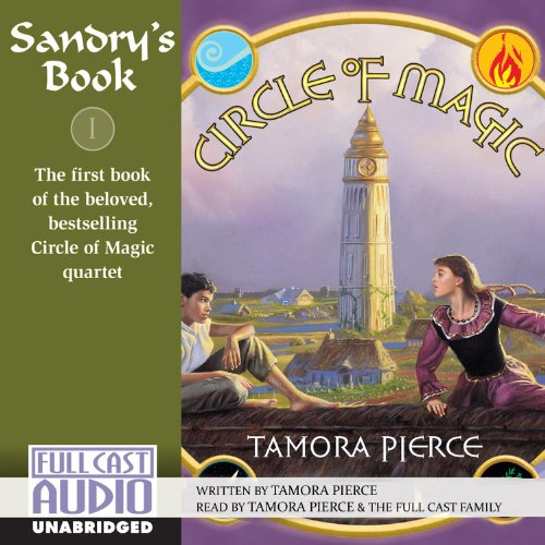 Sandry's Book audiobook cover art