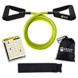 Best Resistance Bands - FEGSY Resistance Tube Exercise Bands for Stretching, Workout Review