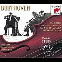 Isaac Stern A Life In Music Beethoven Piano Trios