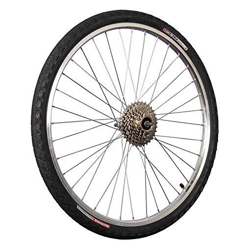 Taylor-Wheels 26 Zoll Hinterrrad Hohlkammer / 8 Fach Zahnkranz und Bereifung