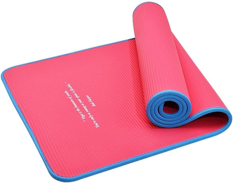 IRVING Gesundheit und Fitness 10mm Starke Komfort-Schaum-Yoga-Matte für übung, Yoga und Pilates
