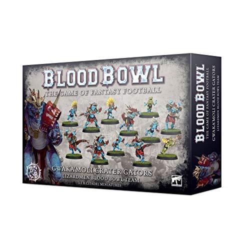 "Blood Bowl ""GWAKA'MOLI Crater Gators LIZARDMEN Team"