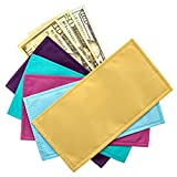 colorful magnetic cash budgeting envelopes