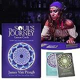 GUOHAPPY Cartas de lección del viaje del alma: Tu ser superior te entregará sabiduría y guía alma (un mazo de 44 cartas y guía electrónica)