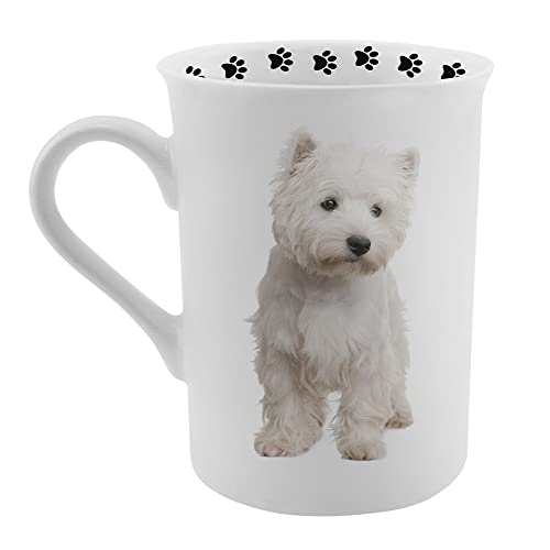 Dimension 9 Westie Coffee Mug, White