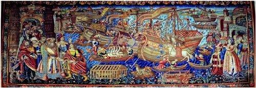 Editions Ricordi 2802N25015 - - Puzzle de 1000 Piezas del Cuadro Renacimiento: Vasco de Gama llega a calcuta
