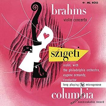 Brahms: Violin Concerto in D Major, Op. 77 (Remastered)