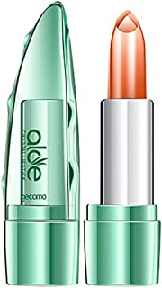 Lipstick Roiper Organic Aloe Vera Jelly Lipstick Change Color Temperature Moistourizing Lip