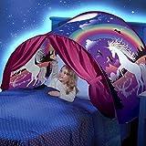 Kunmuzi Tienda de Niños,Magical World Carpa Impermeable Ensueño Wizard Children Play Cama Tienda Campaña (Unicornio)