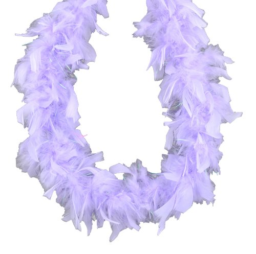 Touch of Nature 36700 Mini Boa, Lavender with Lurex