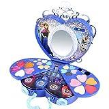 Ensemble De Maquillage Pour Enfants Disney Princess Play, Boîte En Forme De Coeur De Maison Avec Accessoires Pour Cheveux Miroir Jouets Éducatifs Pour Filles, Ensemble De 39 Pièces Cosmétiques De Sé