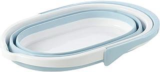 Lavabo pliable Bassin pliable - Bucket rectangulaire domestique rectangulaire Creative pliable Disjoncteur d'eau Squeeze P...