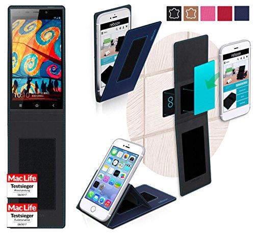Hülle für Gionee Elife E7 32GB Tasche Cover Hülle Bumper | Blau | Testsieger