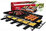 Best Raclette Grills - Artestia 10 Person Large Stainless Steel Electric Raclette Review