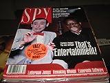 Spy Magazine December 1991 Pee Wee Herman Clarence Thomas Cover
