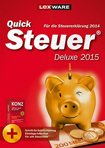 QuickSteuer Deluxe 2015 [PC Download]