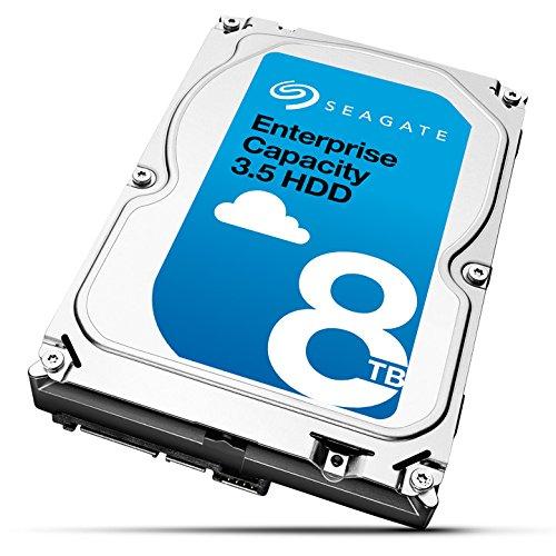 Seagate ST8000NM0105 interne Festplatte 8TB (8,9 cm (3,5 Zoll), 7200rpm, 8MB, 256MB SED, SATA)