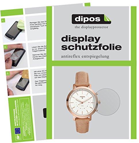 dipos I 6X Schutzfolie matt kompatibel mit Fossil Q Neely Folie Bildschirmschutzfolie