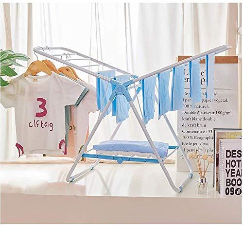 FF Droogkapstok Hangers Airer Droogrek voor baby's Mini trompet Droogrek Vloerraam Vouwvloer Balkonprofiel Balkon Kleren rek