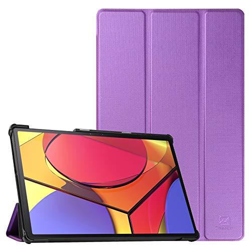 ZhaoCo Funda para Lenovo Tab M10 FHD Plus Tablet de 10.3 Pulgadas (2ª generación) TB-X606F, Protectora Carcasa Delgada y Ligera con Despertador/Sueño Automático - Púrpura