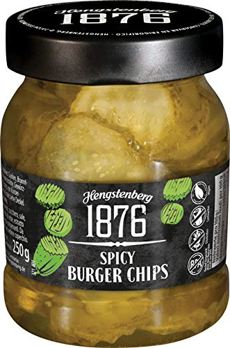 Hengstenberg 1876 Spicy Burger Chips, 8.8 Ounces