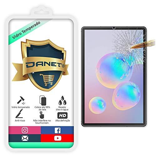 "Película De Vidro Temperado Para Tablet Samsung Galaxy Tab S6 T860 e T865 Tela de 10.5"" - Proteção Blindada Anti Impacto Top Premium - Danet"