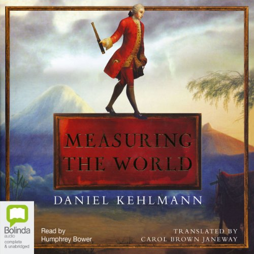 Measuring the World audiobook cover art