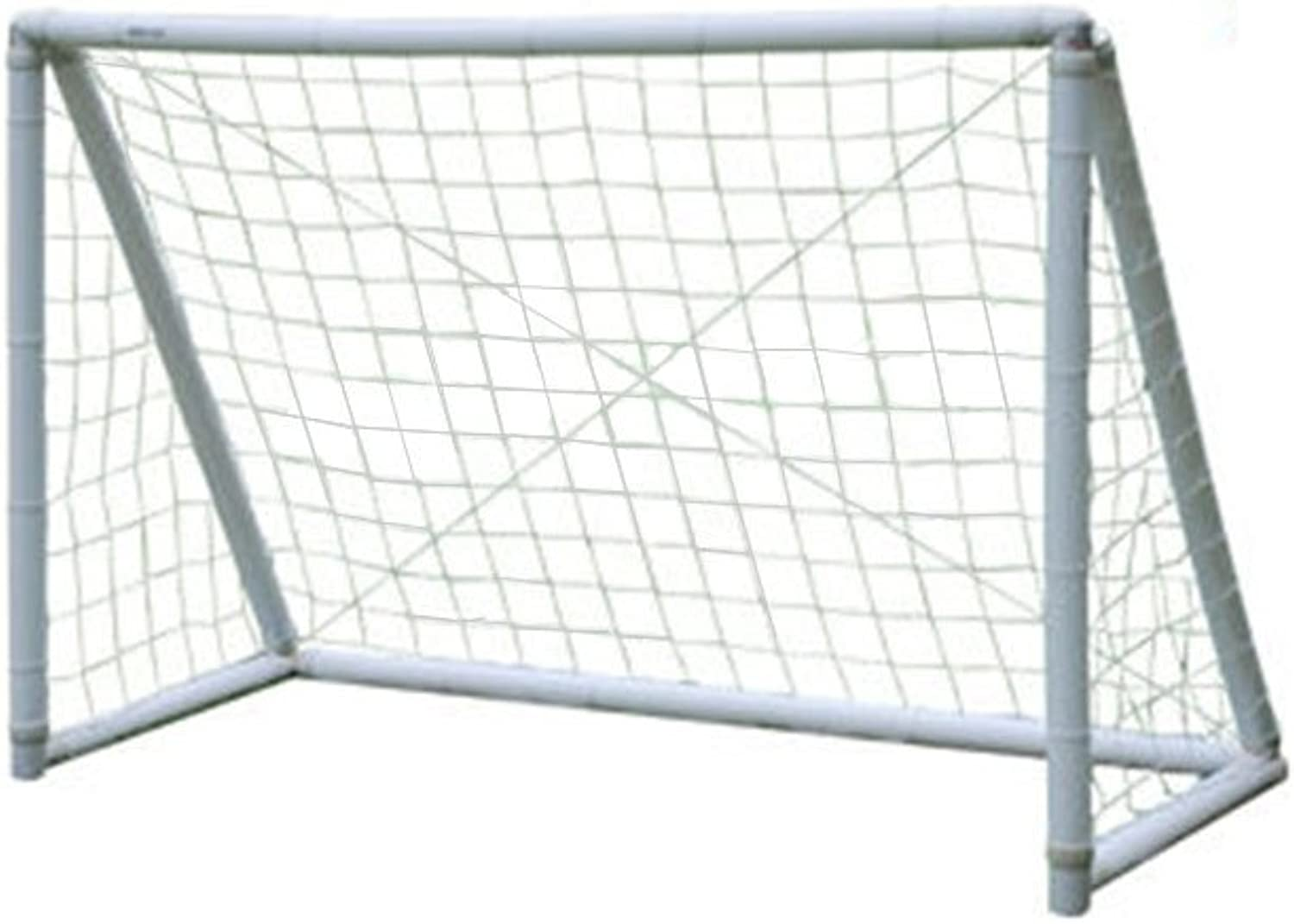 AirGoal Inflatable Soccer Goal for Kids Safe and Portable Indoor Outdoor Use, with Sports Bag Pump Ground Anchors Sand Bags, 3.9 X 2.6 ft  6X4 ft  6.5X3.2 ft