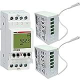 Vemer VE737300 Centralina Controllo Carichi PC Rf8 con 2 Attuatori RX.16A a Radiofrequenza...