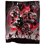 Awesome Shirt Gift MD21 Endgame Quantum Realm Suits Throw Fleece Blanket Medium Size 30 x 40 INCH
