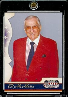 2007 Donruss Americana Retail #93 Ed McMahon Johnny Carson's Sidekick Entertainment Trading Card